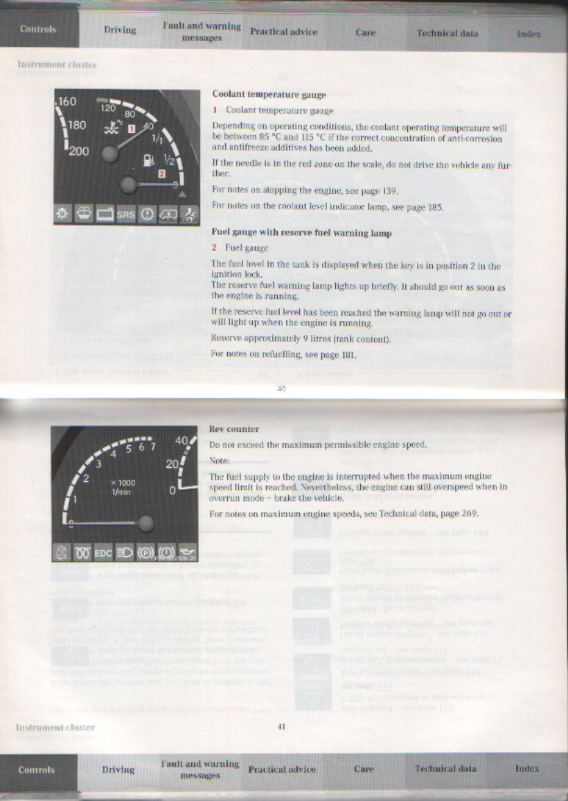 Mercedes Wiring Diagrams Technical Schematics Etc Benz Forum E200 Diagram Click Image For Larger Version Name Merc Instrument Cluster2 Views 10270 Size