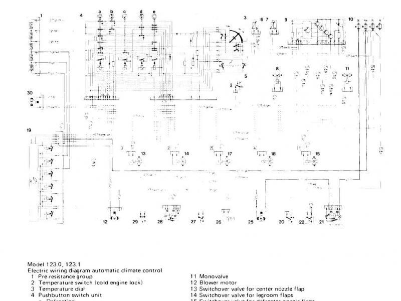 1985 300cd climate wiring diagram needed mercedes benz forum. Black Bedroom Furniture Sets. Home Design Ideas
