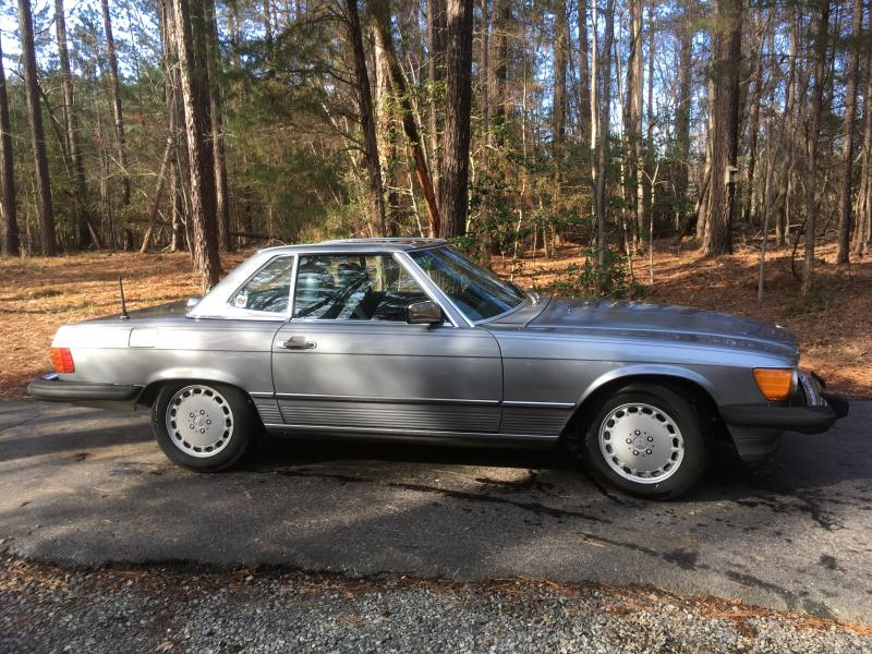 1987 560sl for sale chapel hill nc mercedes benz forum