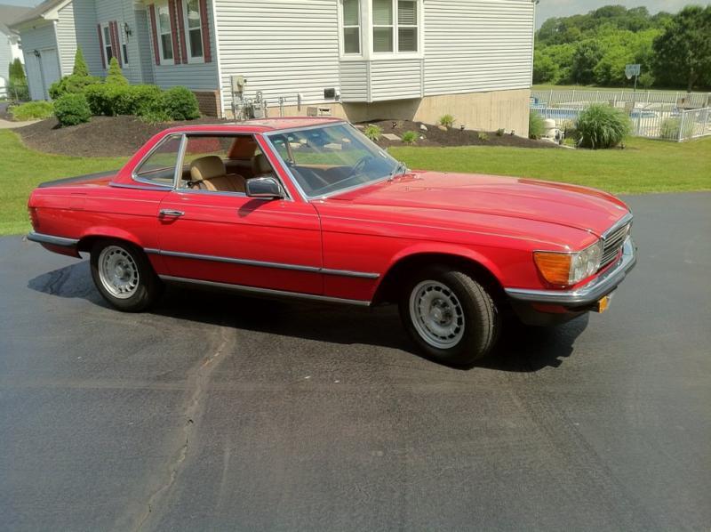 Feeler: 1985 Mercedes 280sl Euro-merc8.jpg