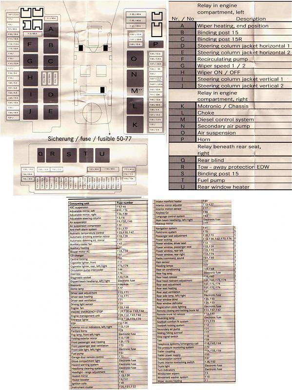 fuse box chart 2000 s430 mercedes 2000 s430 rear fuse box mercedes benz forum  2000 s430 rear fuse box mercedes benz