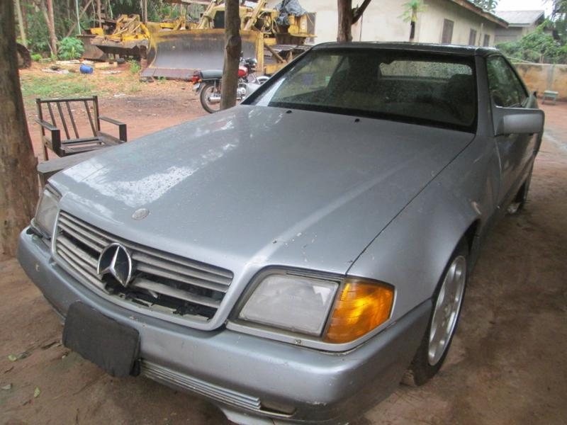 autoblog martin benz by photo sl mercedes junkyard gem colorado murilee in