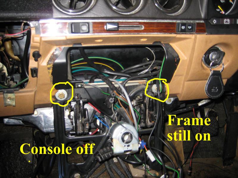 D Center Console Removal Sl Mercedes Project Console Off Copy