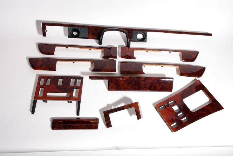 mercedes benz w126 wood trim. Black Bedroom Furniture Sets. Home Design Ideas
