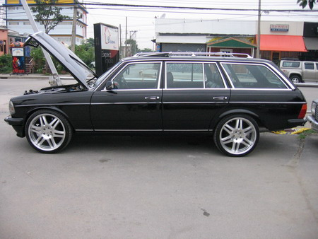 Mercedes Wheels on W123 Rims What Works    Page 8   Benzworld Org   Mercedes Benz
