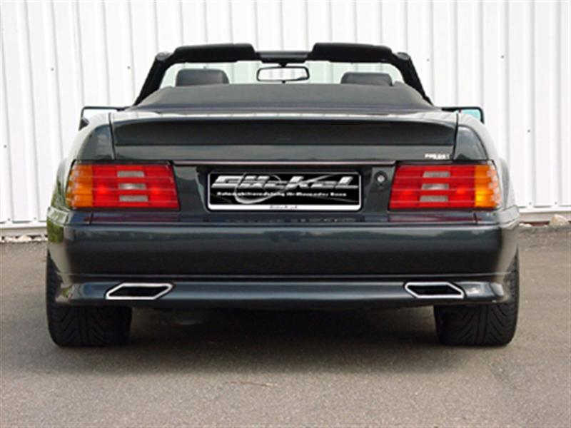 R129 sl custom dual exhaust systems mercedes benz forum for Mercedes benz aftermarket performance parts