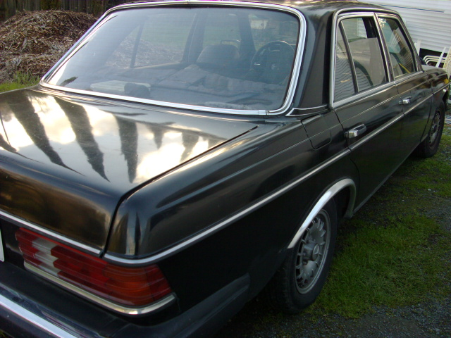 1981 Mercedes 300d 4 Speed Diesel Euro Non Turbo Model