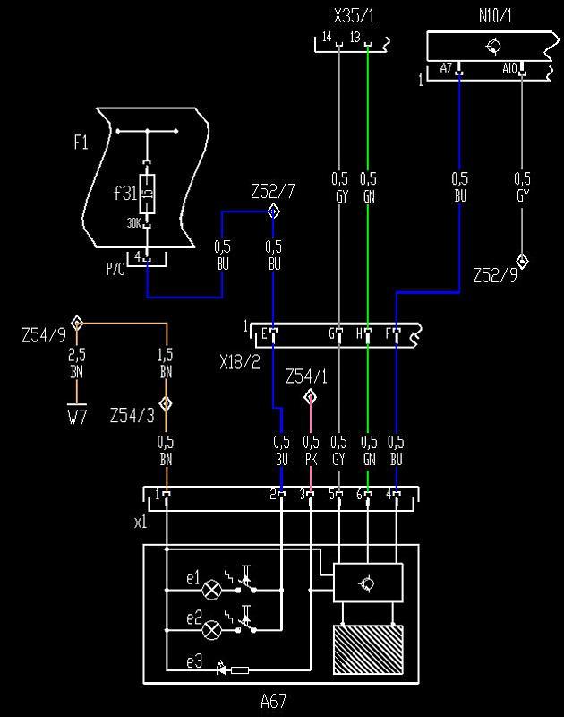 2002 mirror wiring mercedes benz forum rh benzworld org Mercedes 230 SLK Wiring Diagrams Mercedes-Benz Radio Wiring Diagram for 2013