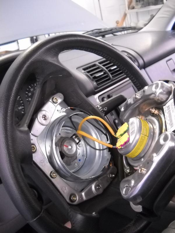 04 ml350 cruise control lever remove  replace
