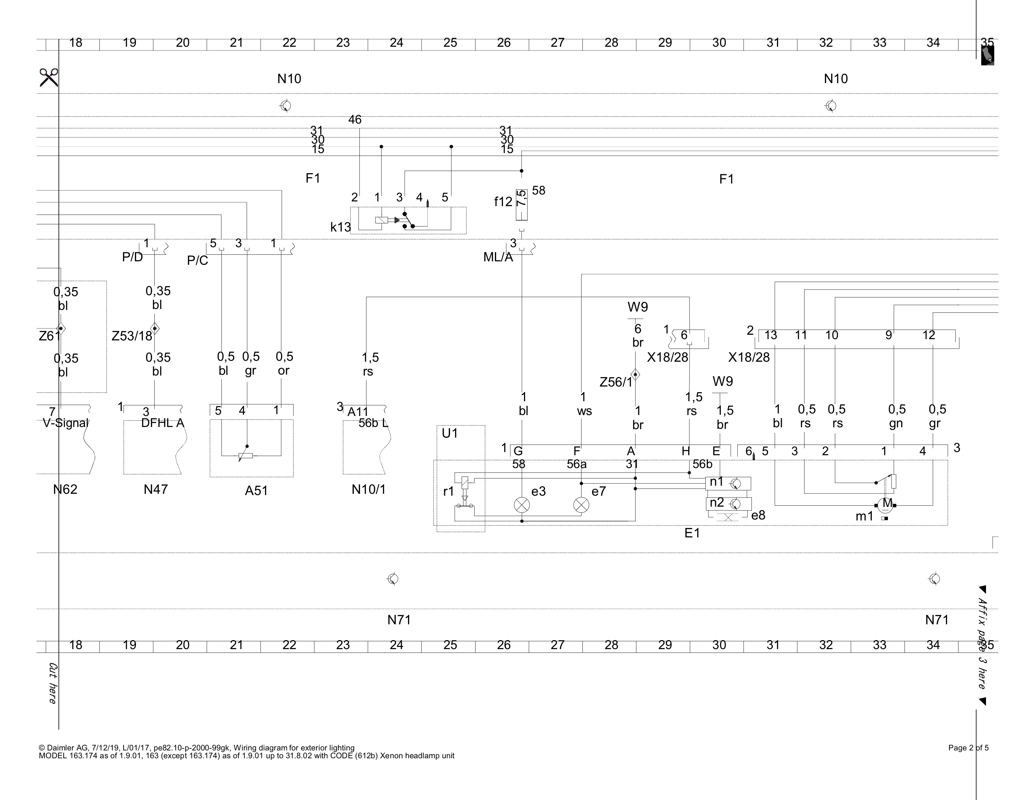 Wiring Diagram Help Request Parktronic Xenon Mercedes Benz Forum