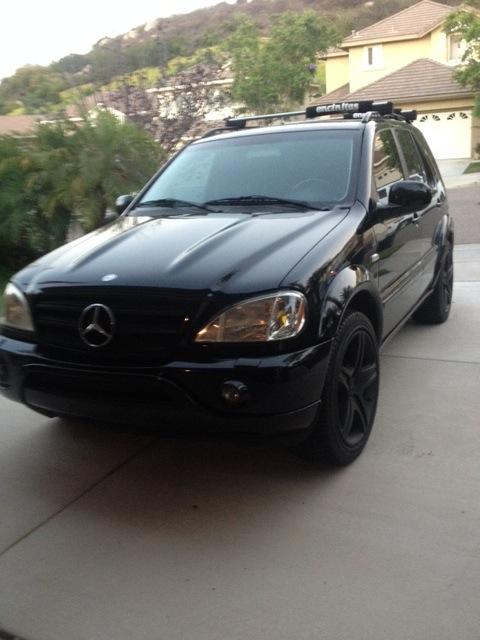 Ml63 Amg Wheels On My Ml55 Amg Mercedes Benz Forum