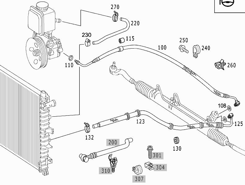 411860d1322336758 2001 ml430 power steering major leak ml_ps01 2001 ml430 power steering major leak mercedes benz forum