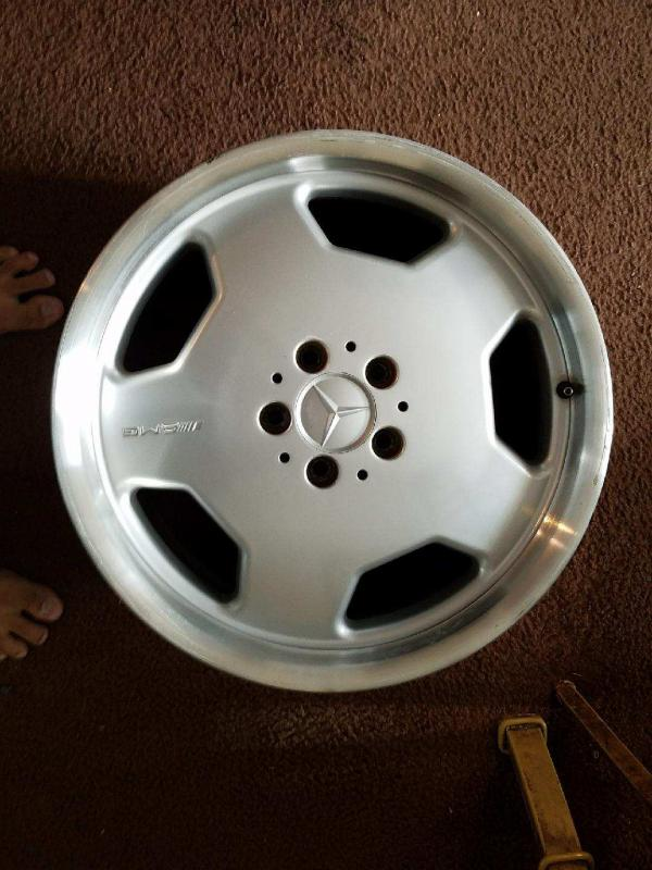 For Sale Amg Monoblock 18inch Wheels From Mercedes W140