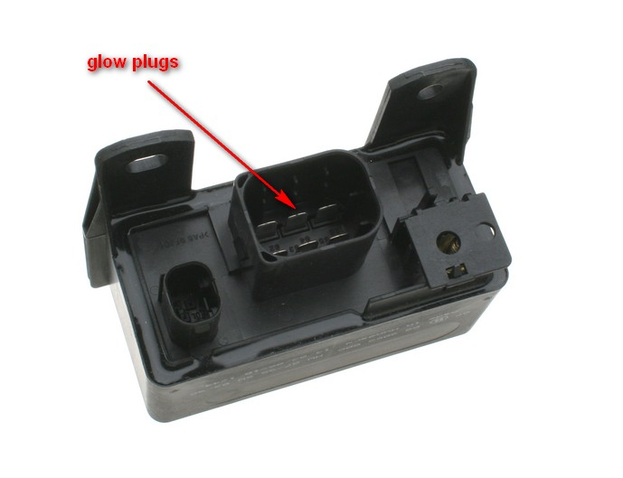 D E D Diesel Glow System Debugging N on Mercedes Benz E320 1997 Engine