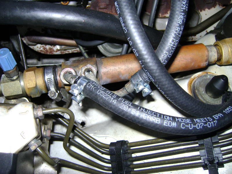 1313570d1423254091 fuel line overhaul what size rubber new fuel lines 1 fuel line overhaul what size rubber fuel line? mercedes benz