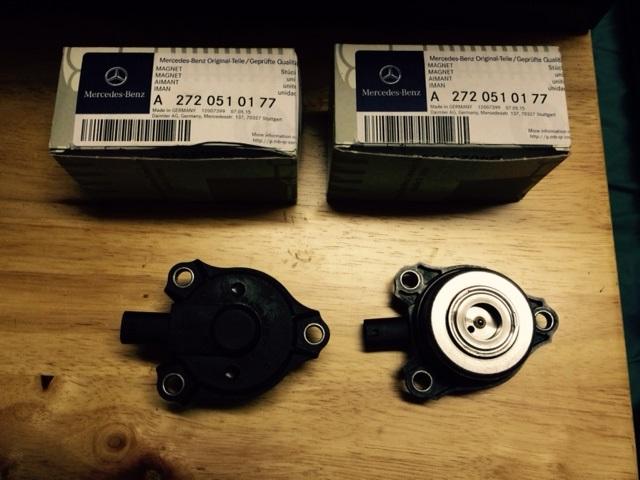 Camshaft Position Sensor Solenoid Magnet Diy Mercedes Benz Forum