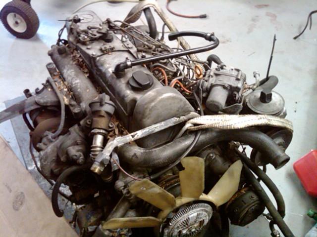 FS: 85 Turbo OM617 diesel engine - Mercedes-Benz Forum