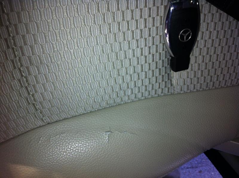 B Class Seat Cover Cracking Mercedes Benz Forum