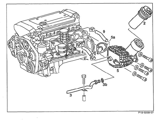 Need Part Number And Process For Rr Engine Oil Cooler Hose