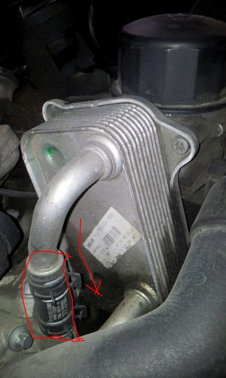 Mercedes Benz Oem Parts >> Oil Cooler replacement procedure for W203 M112 engine - Mercedes-Benz Forum