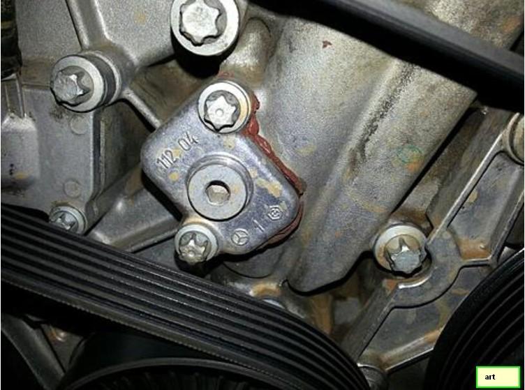 Car Leaking Oil >> Oil leak,front left--out of ideas! - Mercedes-Benz Forum