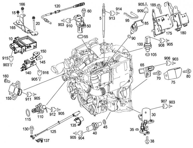 1685914 Engine Oil Cooler Needs Replacement on 2005 dodge sprinter engine diagram