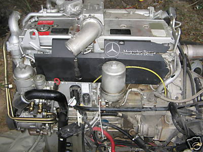 Project Engine MB OM906LA / Allison 6spd Auto- Tranny ...