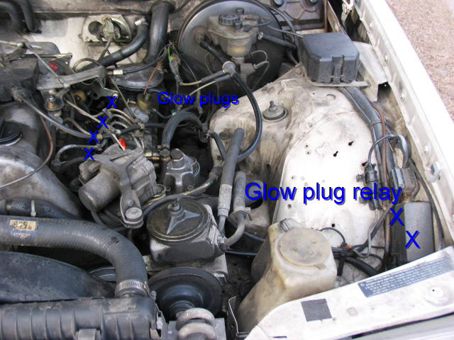 Diy Glow Plug Relay And Glow Plugs Mercedes Benz Forum