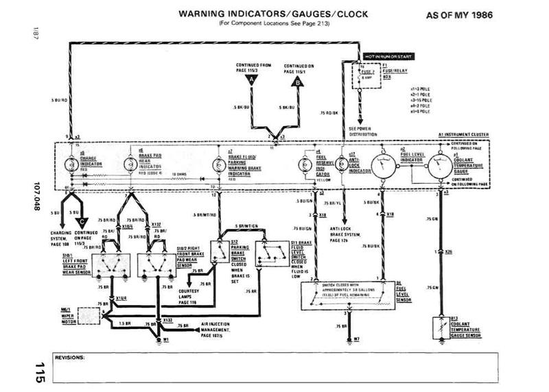 wire diagram 1986 mercedes benz  wire  free printable wiring diagrams database