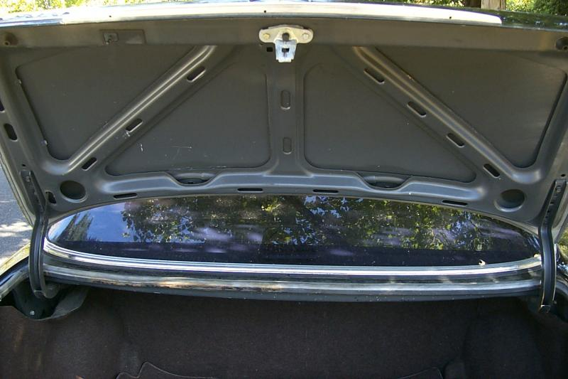 Coupe Vs Sedan >> Coupe vs Sedan trunk lid - Mercedes-Benz Forum