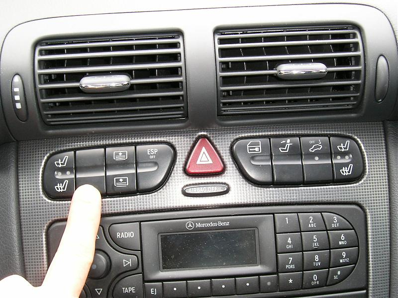 Find My Car >> Center Console Switches - 2003 C230 - Mercedes-Benz Forum