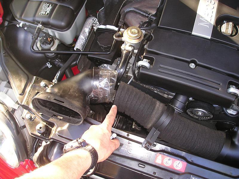 2005 mercedes c230 kompressor cold air intake for 2005 mercedes benz c230 kompressor parts