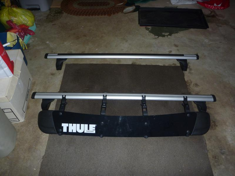Thule Roof Rack W Fairing For 08 C Class Mercedes Benz