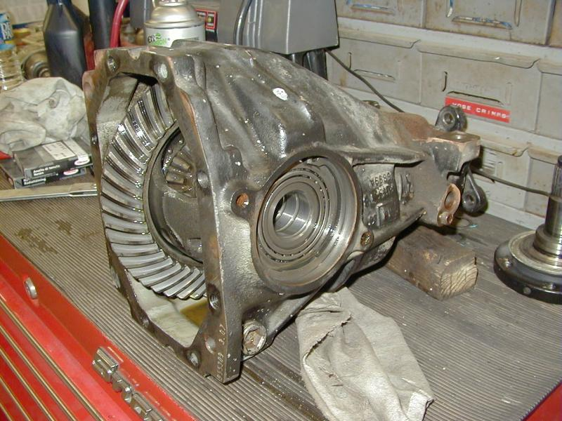 Fixing Differential Leaks Need Info On Stub Axles