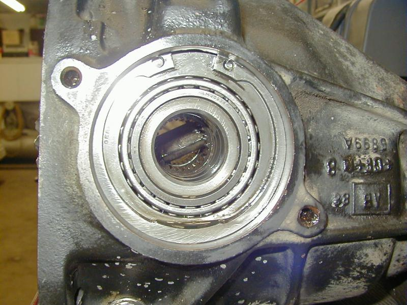 Final drive (differential) seepage on 1987 300TDT (S124) - Mercedes