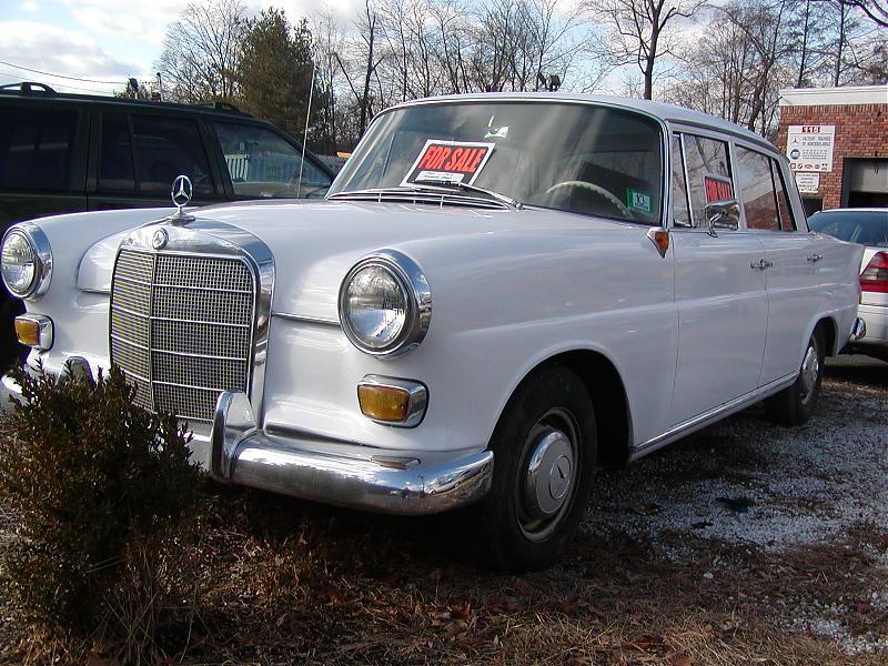1964 mercedes 190 d