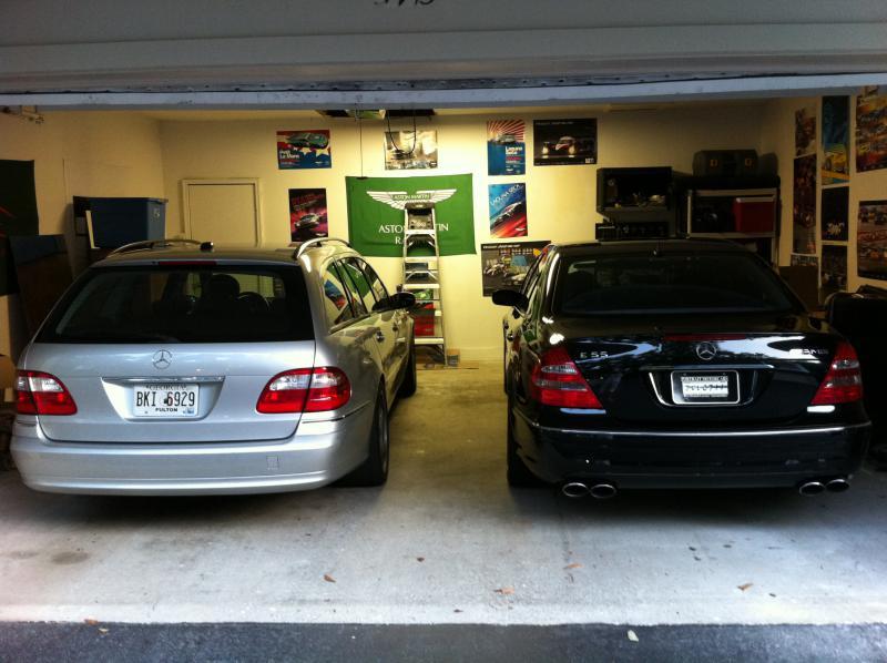 E55 is finally in my garage! - Mercedes-Benz Forum