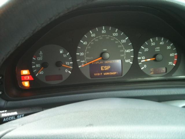 Esp Bas Brake Warning Light On Mercedes Benz Forum