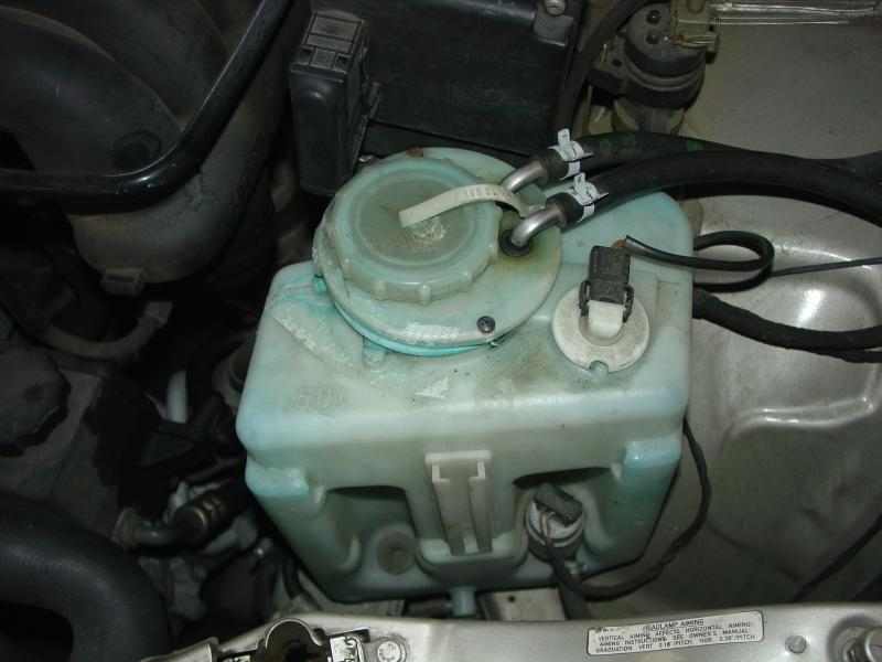Diy Windshield Washer Tank Replacement With Pictures
