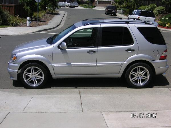 "World Of Wheels Boston >> 2001 Mercedes Benz ML320 Brabus Body Kit and 20"" Brabus ..."