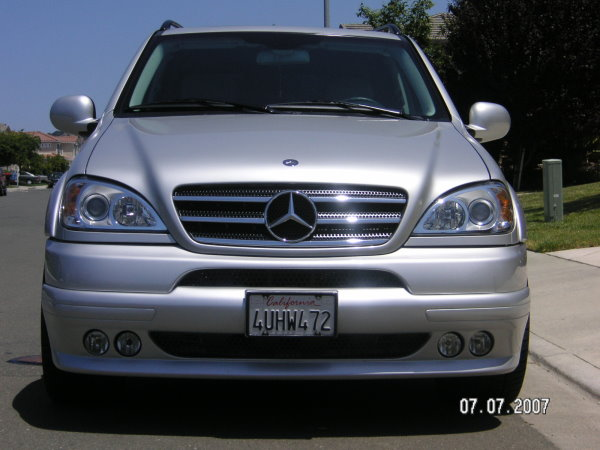 "San Francisco Mercedes >> 2001 Mercedes Benz ML320 Brabus Body Kit and 20"" Brabus ..."