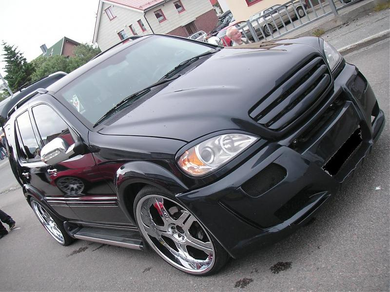 Photos Finally Is My Mercedes Ml Finsihed Lowered On 24