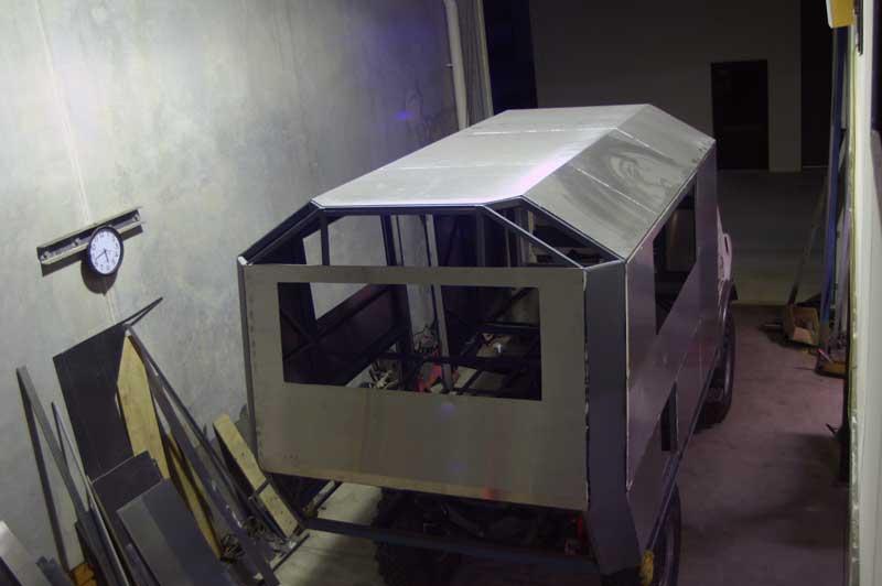 Gluing Aluminum Sheets To Steel Frame Mercedes Benz Forum