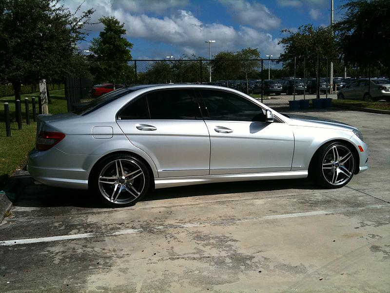 Looking for 5 star gun metal amg rims for c350 - Mercedes ...