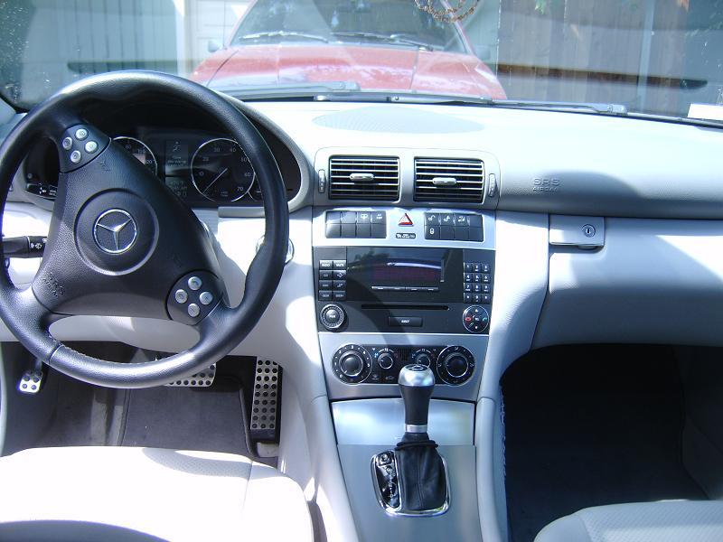 C230 Kompressor 2005 Interior