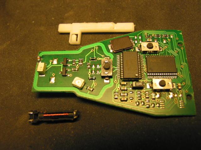 Infra red panel broken on key fob mercedes benz forum for Mercedes benz key fob battery size