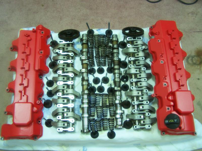 F/s W209 2003 CLK55 AMG Head kit with painted Covers-picture-714.jpg