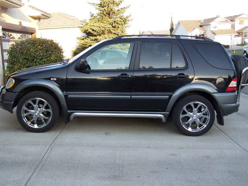 """Mercedes Of Seattle >> Pictures of 20"""" rims on ML320 - Mercedes-Benz Forum"""