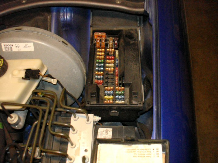 mercedes slk 230 fuse box data wiring diagram Mercedes SLK 230 Problems