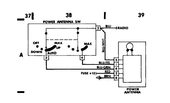 hirschmann power antenna wiring diagram